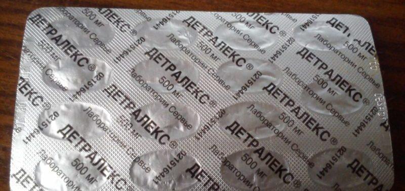 состав препарата детралекс