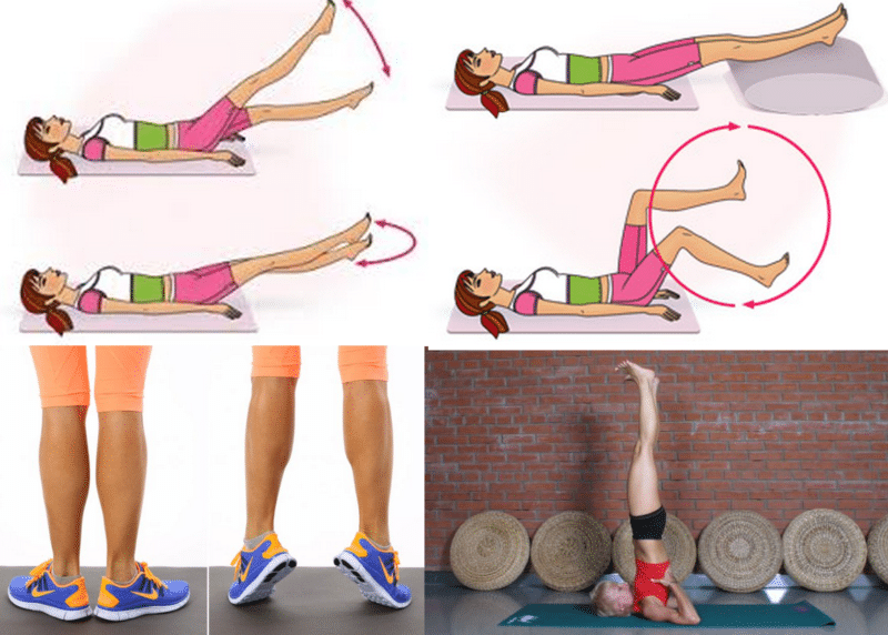 гимнастика при варикозном расширении вен нижних конечностей