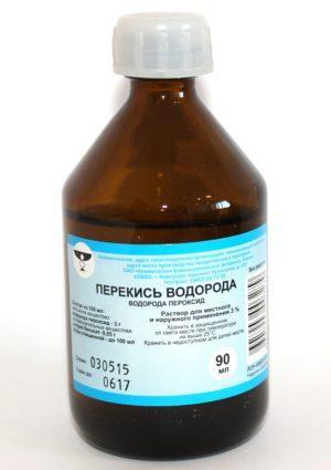 лечение варикоза перекисью водорода